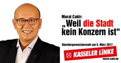 Murat Cakir – Oberbürgermeisterwahl 5. März