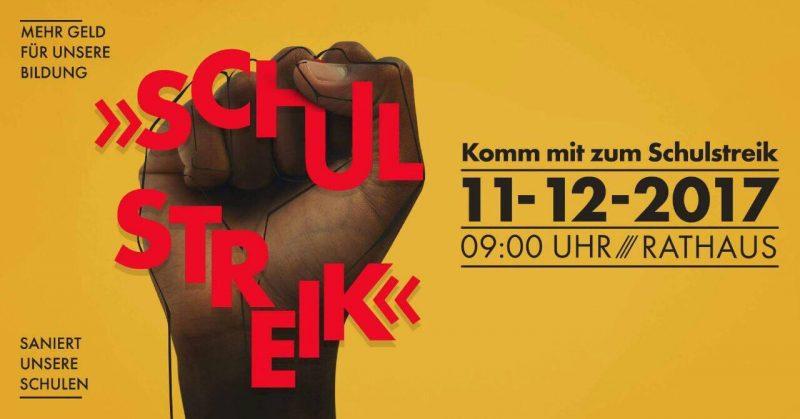 Schulstreik in Kassel