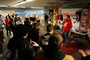 Hip Hop in der Unterführung